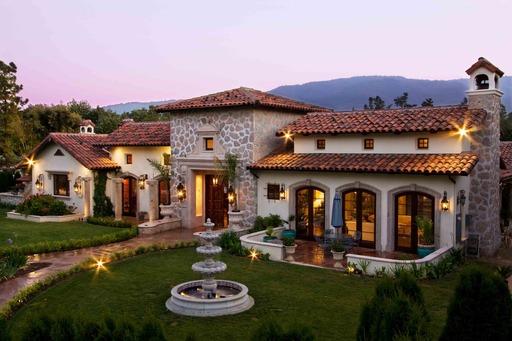 Quito road saratoga ca 95070 for Hacienda style homes