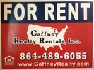 Gaffney Realty Rentals, Inc.