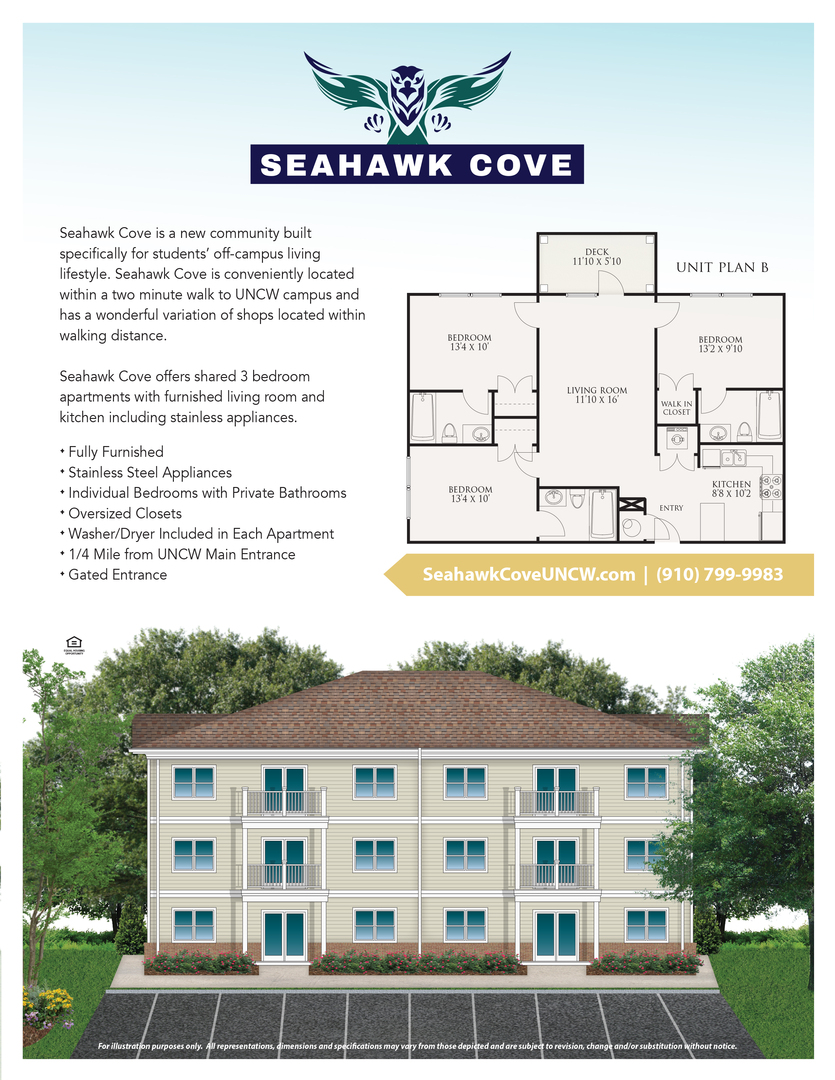 , Wilmington, NC. This is available from Sea Coast Rentals.