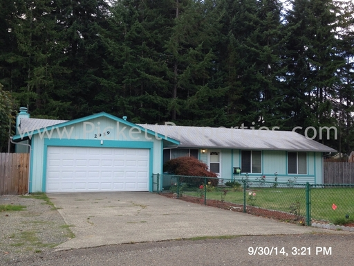 3 Bed Rambler in Great Port Orchard Location