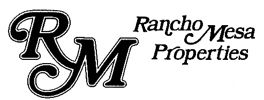 RANCHO MESA PROPERTIES