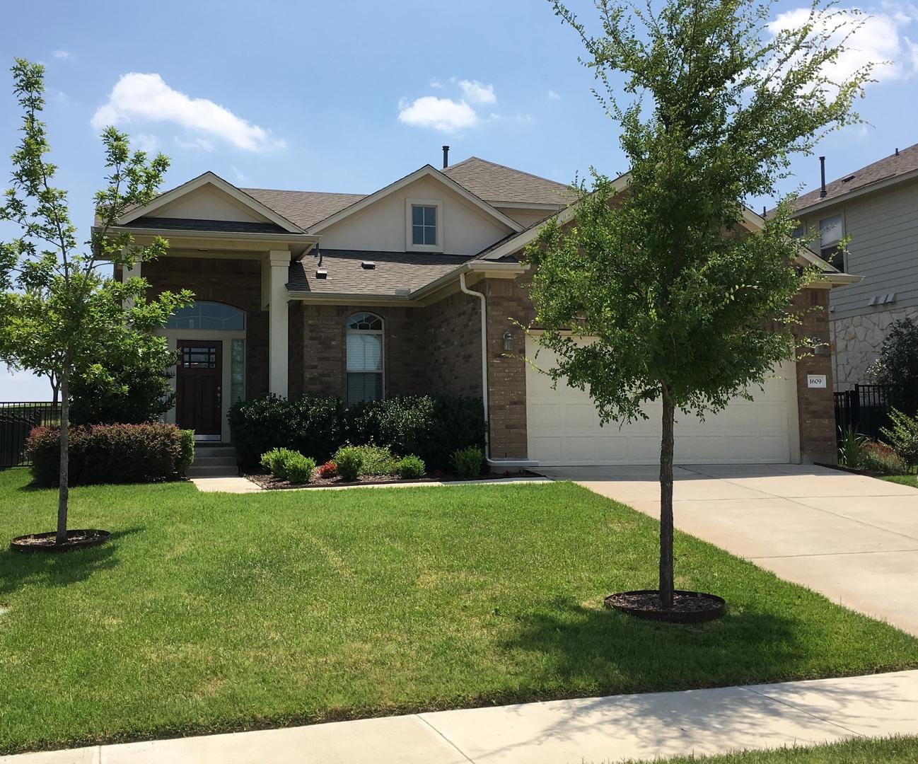 1609 Greenside Drive Round Rock Tx 78665 Rental Listing Real